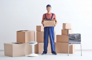 mover with many moving boxes