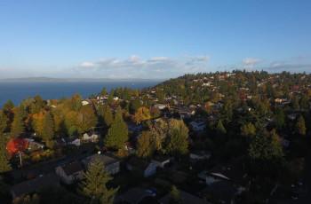Seattle's suburban area