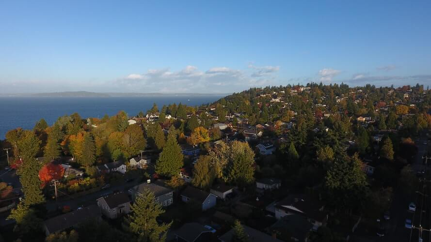 Moving to Seattle's suburban area will allow for a comfortable life.
