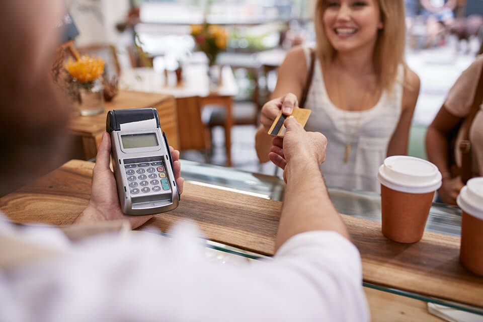 Paying with a credit card is safer than using cash