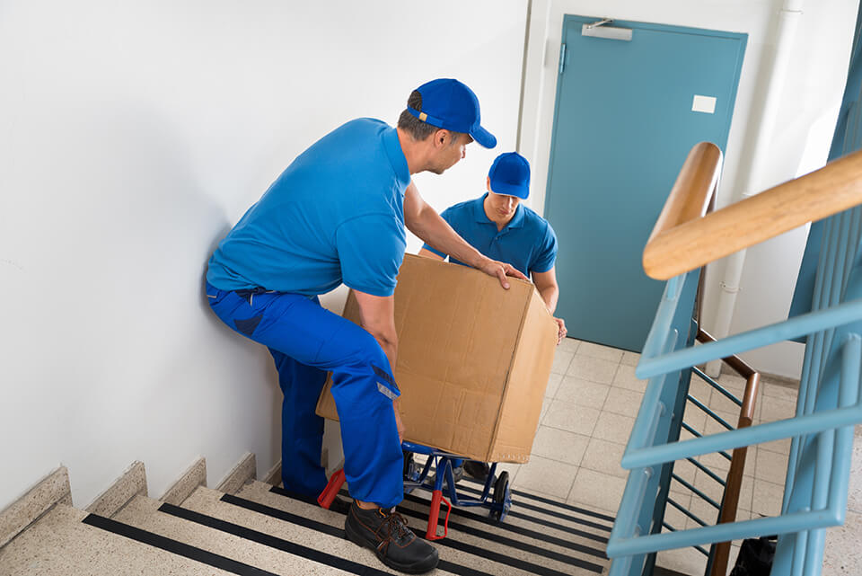 Save some money by hiring movers in winter.