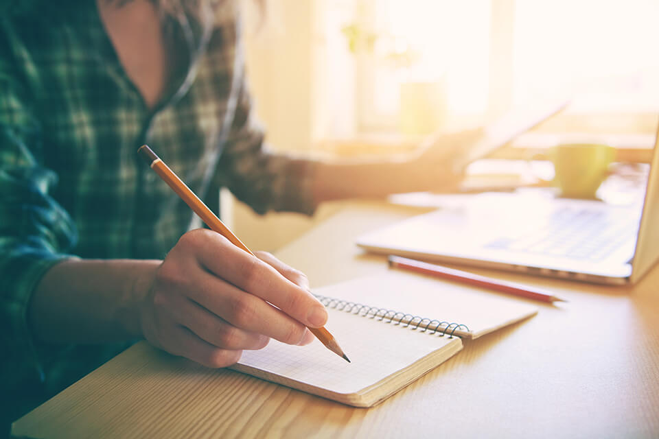 Avoid forgetting anything by writing down everything