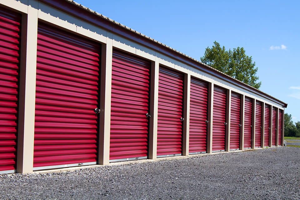 Rent a storage unit if you have items you don't want to move into your new home