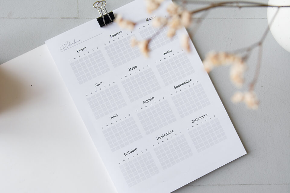 Making a plan and timeline can be a helpful technique for organizing your decluttering and relocation process