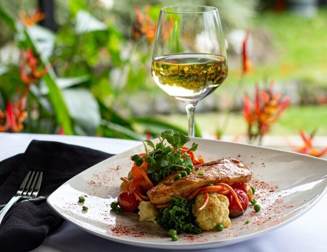 Food and wine at the center of it all in the most foodie-friendly of suburbs near San Francisco