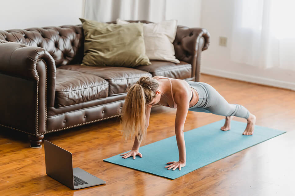 Your body might be stacking up anxiety, so try to relieve some through relaxing exercises like yoga.