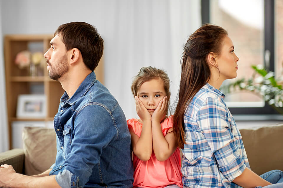 There are many reasons to move to a different home - divorce can be a distressing one, especially if children are involved.