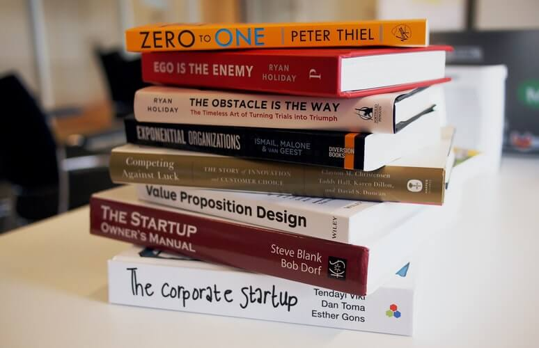 A pile of publications