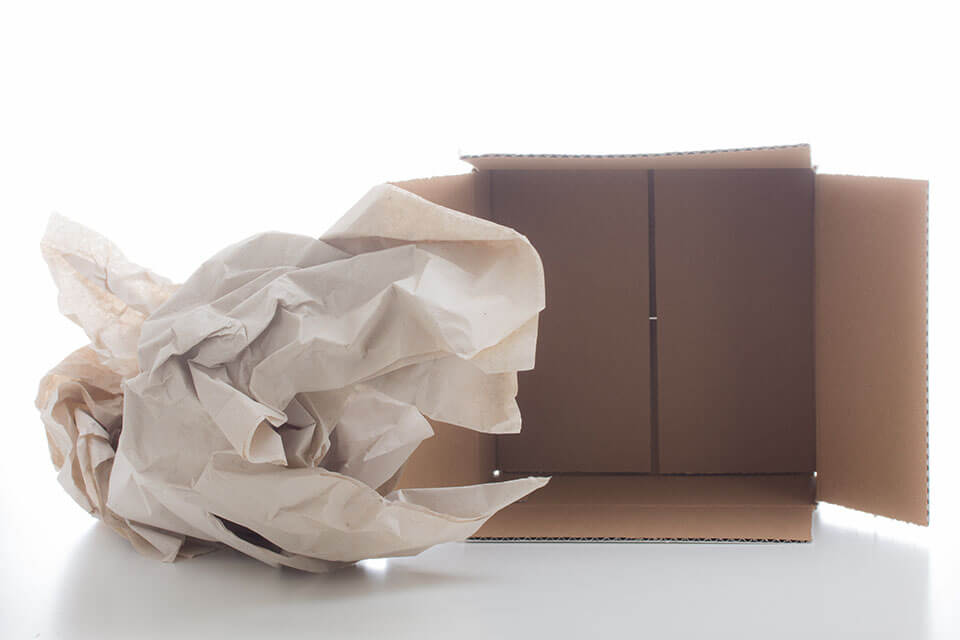 Packing paper professional moving companies provide